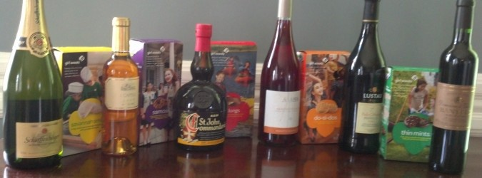 Part 2 of My Girl Scout Cookie and Wine Pairing
