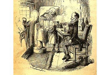 So what do you think the kinder gentler Scrooge drank?