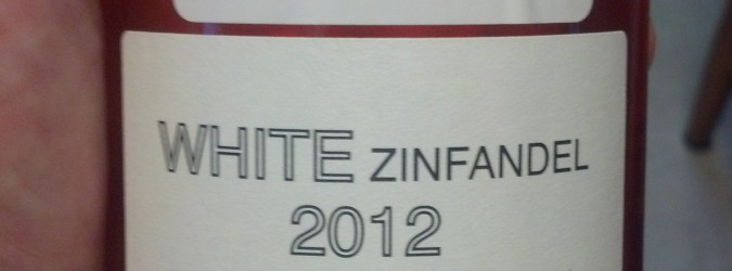 I Tried White Zinfandel (Not THAT Kind of White Zin)….And Liked It